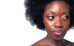 Zelfgemaakte Ebony vrouw