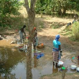 Kleding wassen Benin