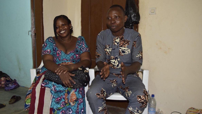 Yebba Styling echtpaar in african wax