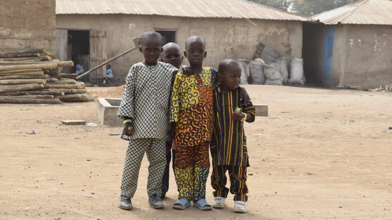kinderen in african wax